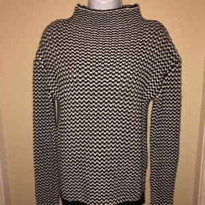 Sanctuary Mock Neck Sweater Size Small